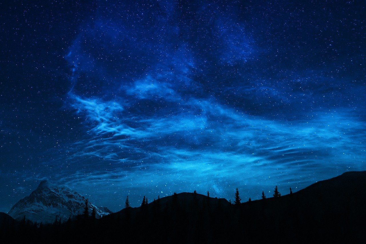 forest, stars, mountains-5442598.jpg
